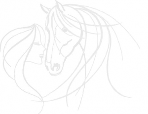 Pferd und Frau-s2