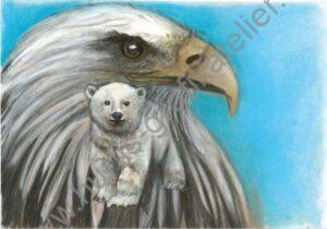 Eisbär - Adler